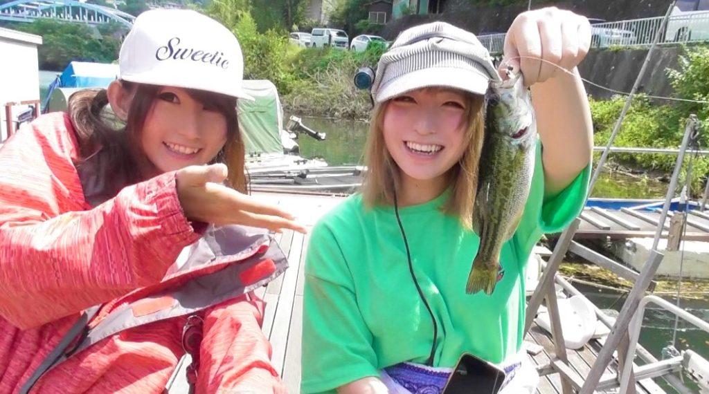 【バス釣り】初心者釣りガールが人生初バス釣って大興奮!相模湖・アップしました!