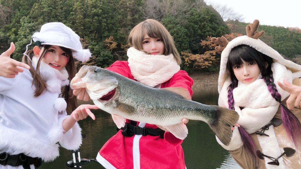 【今年は爆釣クリスマス♡デカバス5連発!!】アップしました~♪
