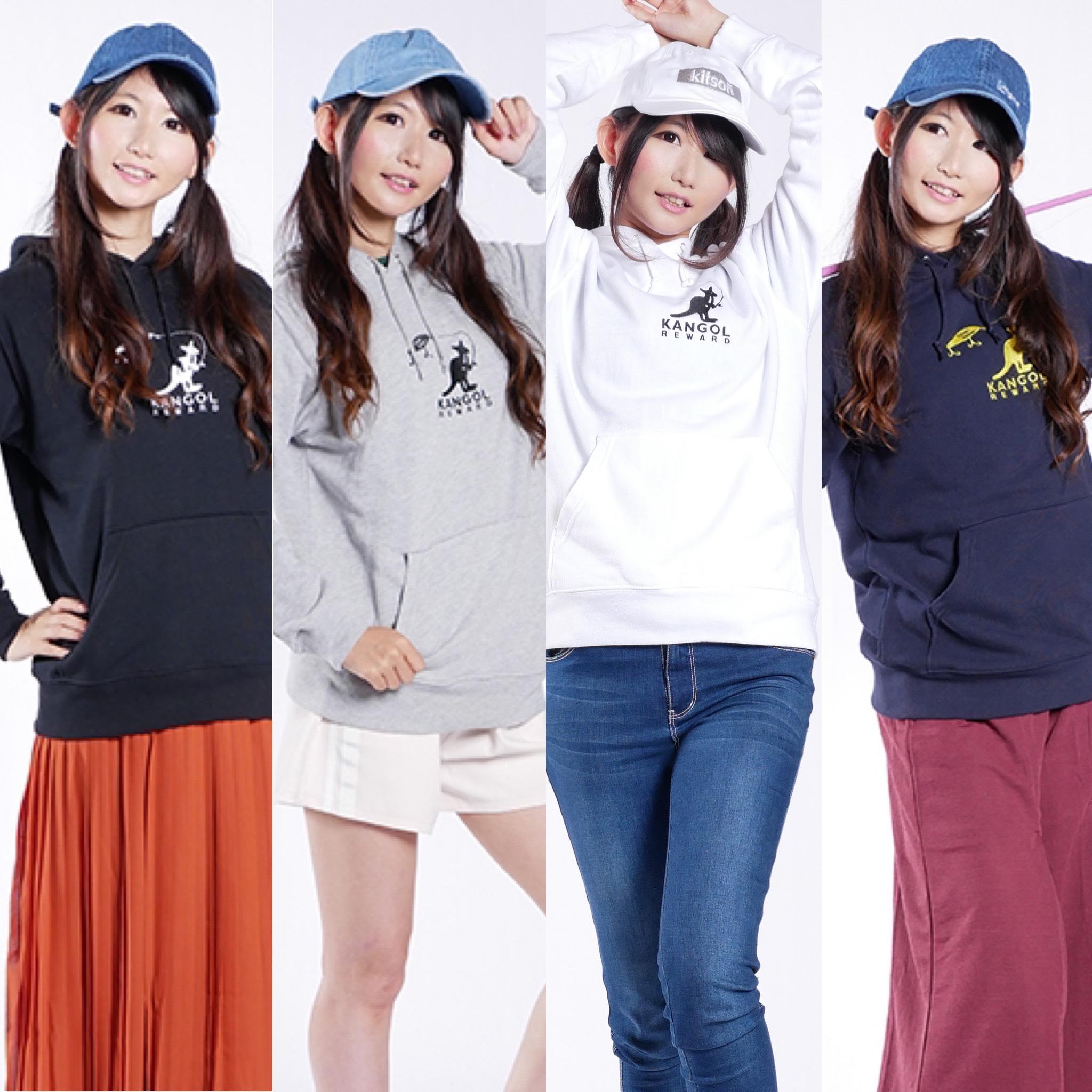 魚住つばき×KANGOL REWARDコラボTシャツとパーカーが発売!